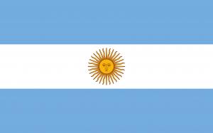 Bandeira da Argentina.