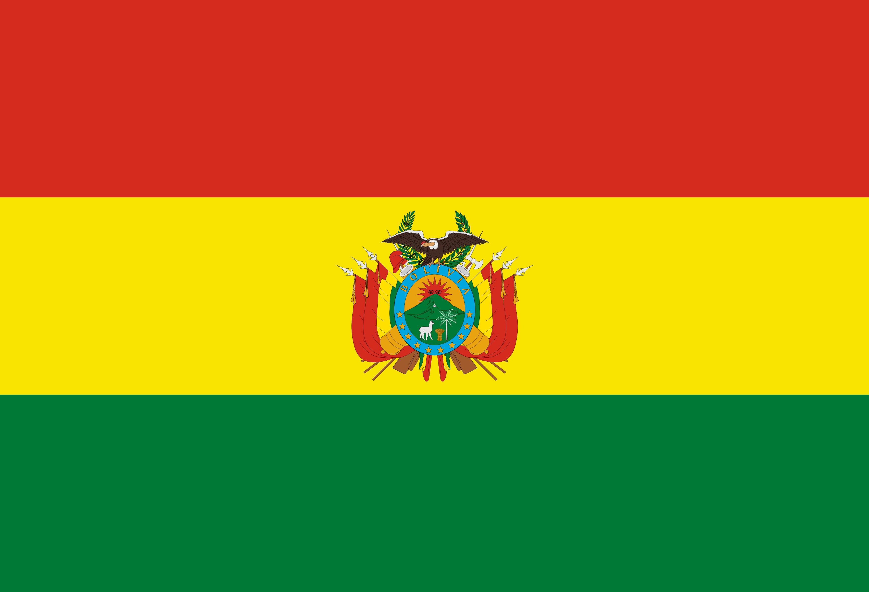 Bandeira da Bolívia PNG.