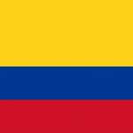 Bandeira do Colômbia.