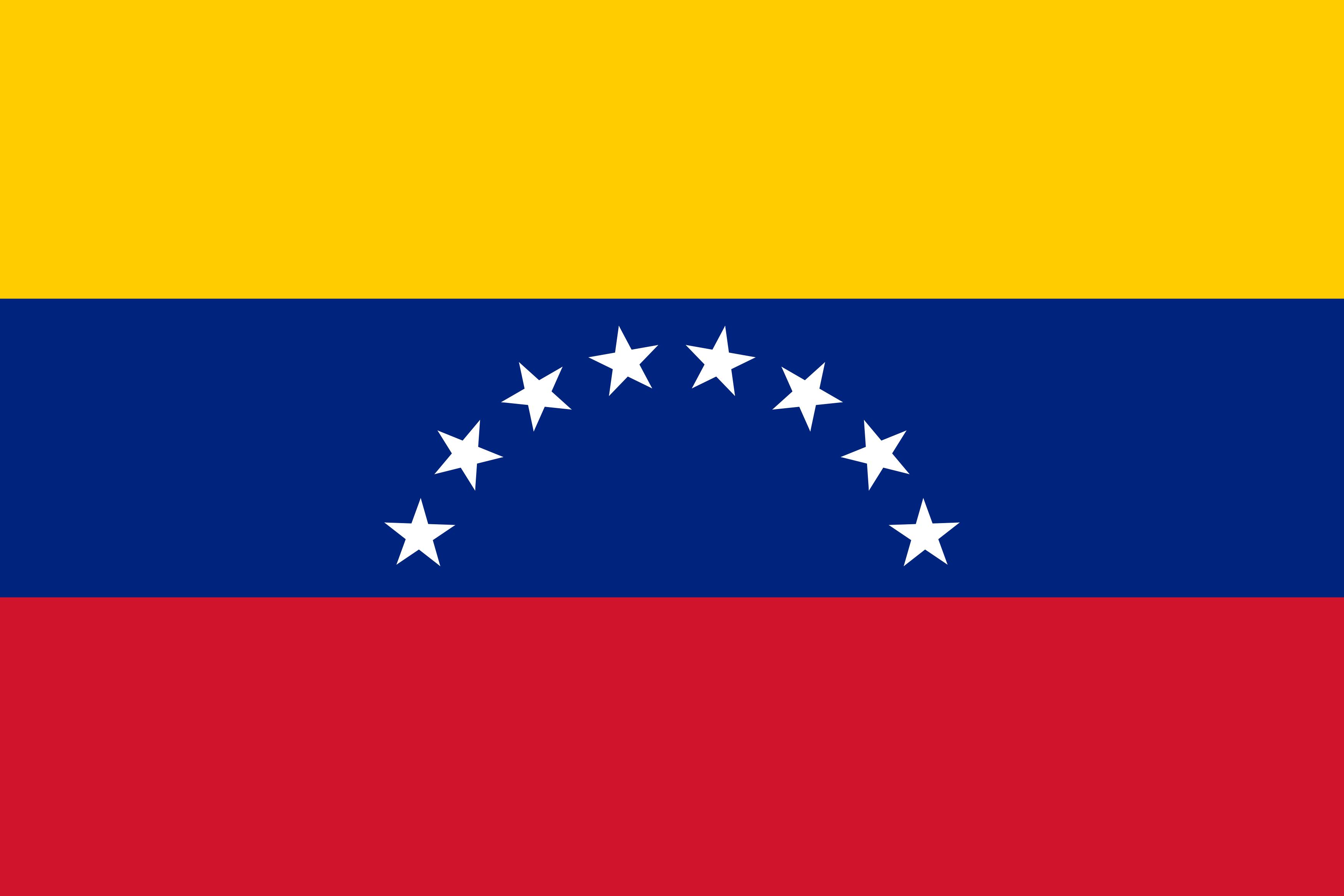 Bandeira da Venezuela.