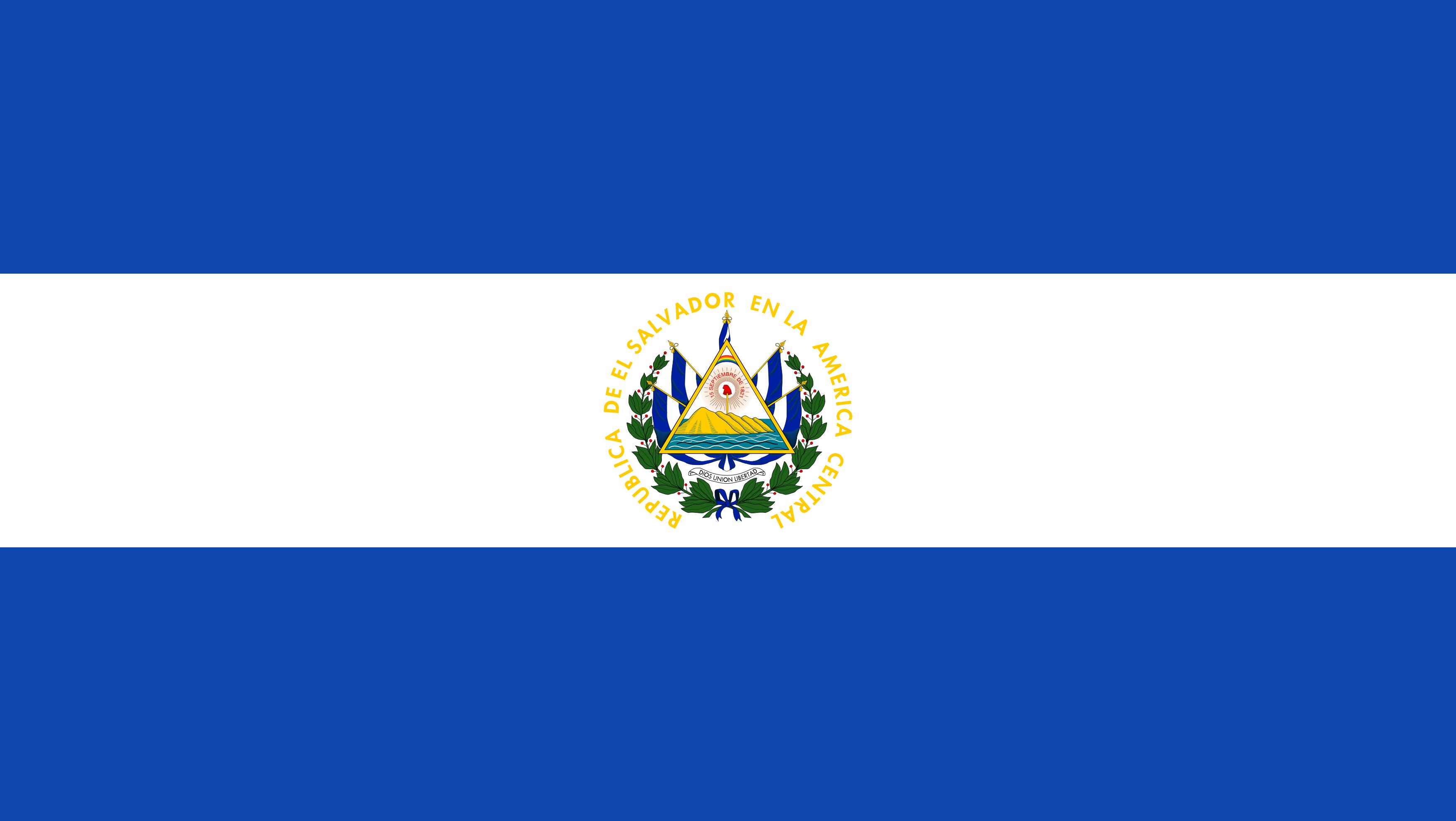 bandeira de el salvador - Bandeira de El Salvador