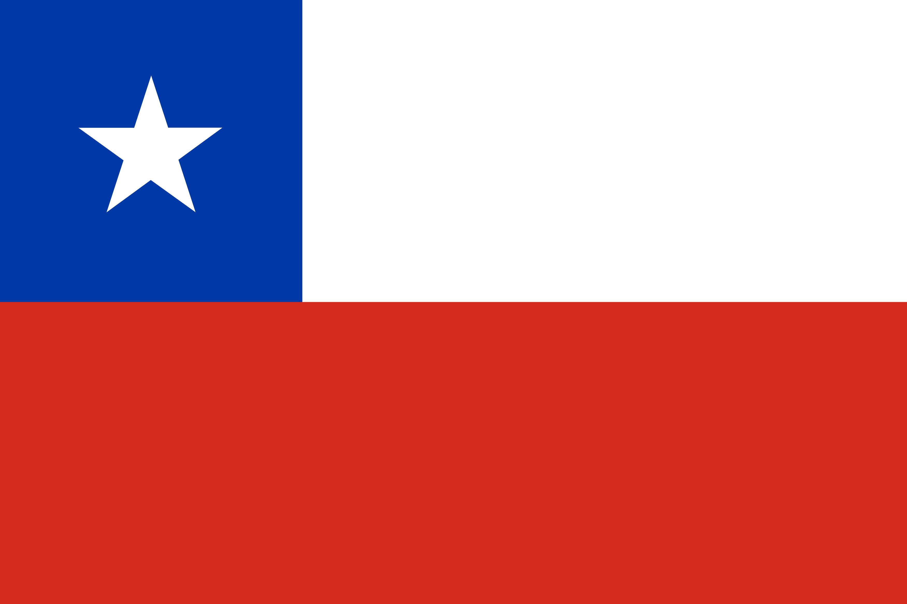 bandeira do chile - Bandeira do Chile