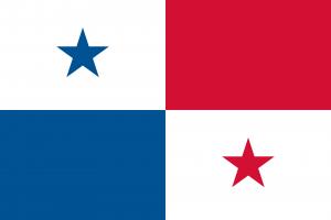 Bandeira do Panamá.