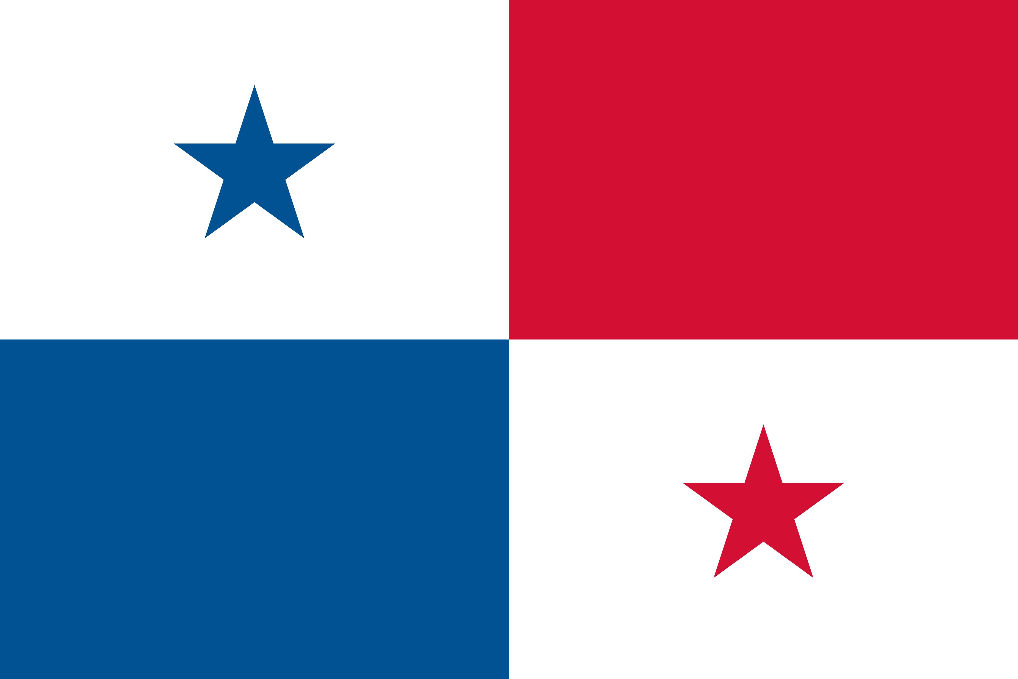 bandeira do panama - Bandeira do Panamá