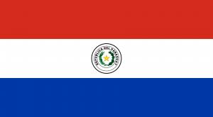 Bandeira do Paraguai png.