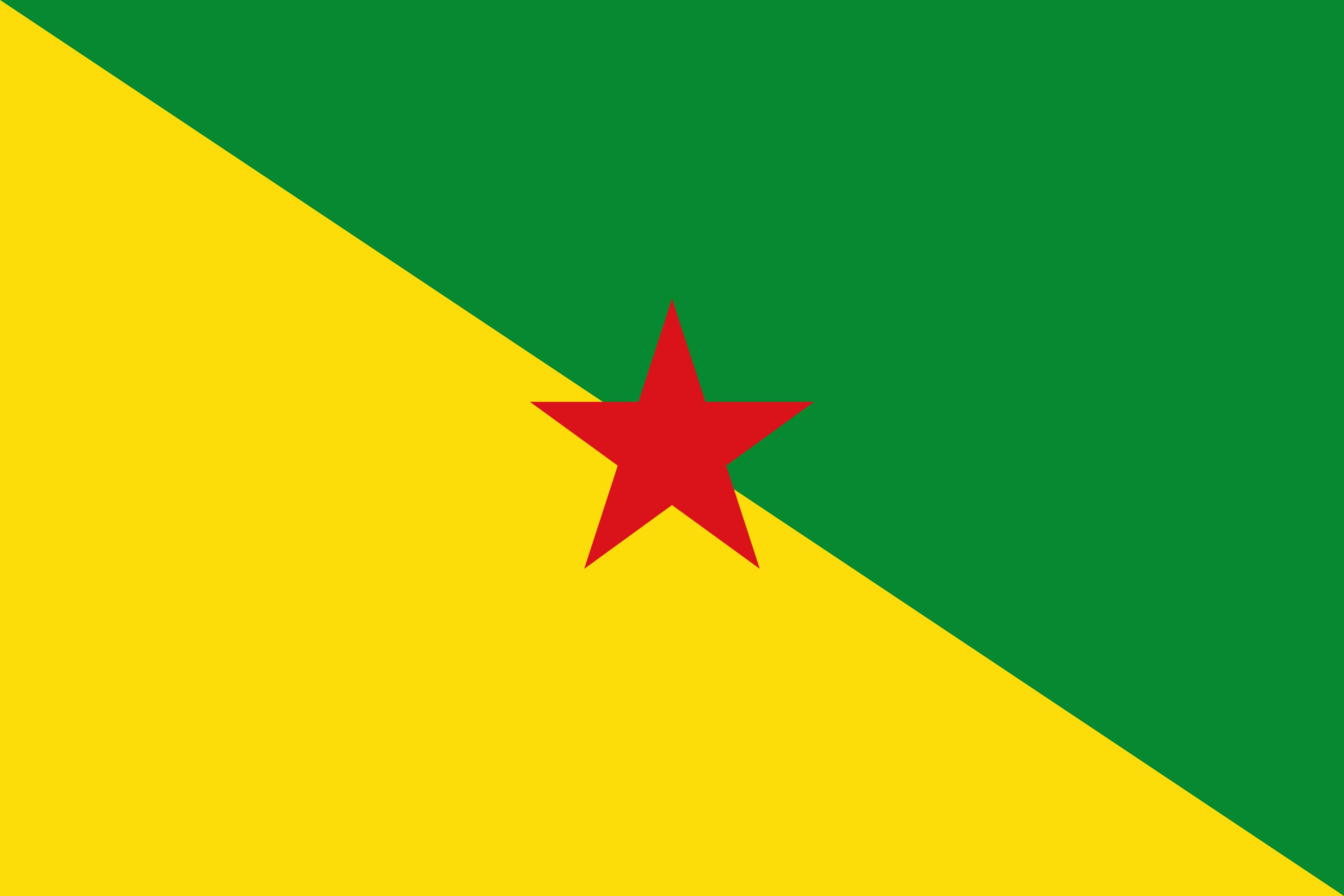 bandeira guiana francesa - Bandeira da Guiana Francesa