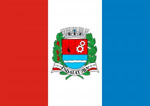 Bandeira de Indaiatuba SP.
