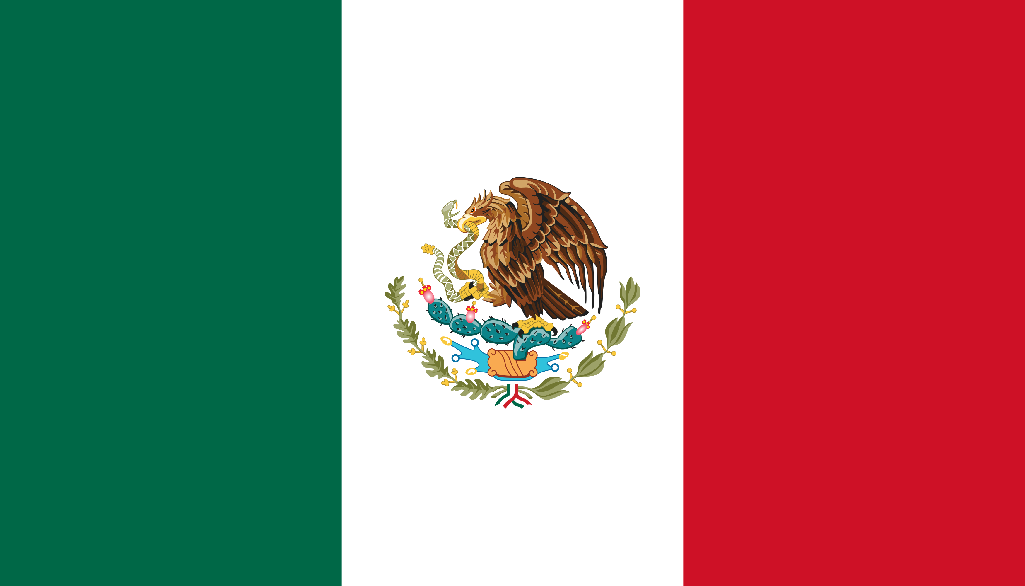 bandeira do mexico - Bandeira do México