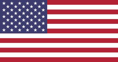 Bandeira dos Estados Unidos da América (EUA).