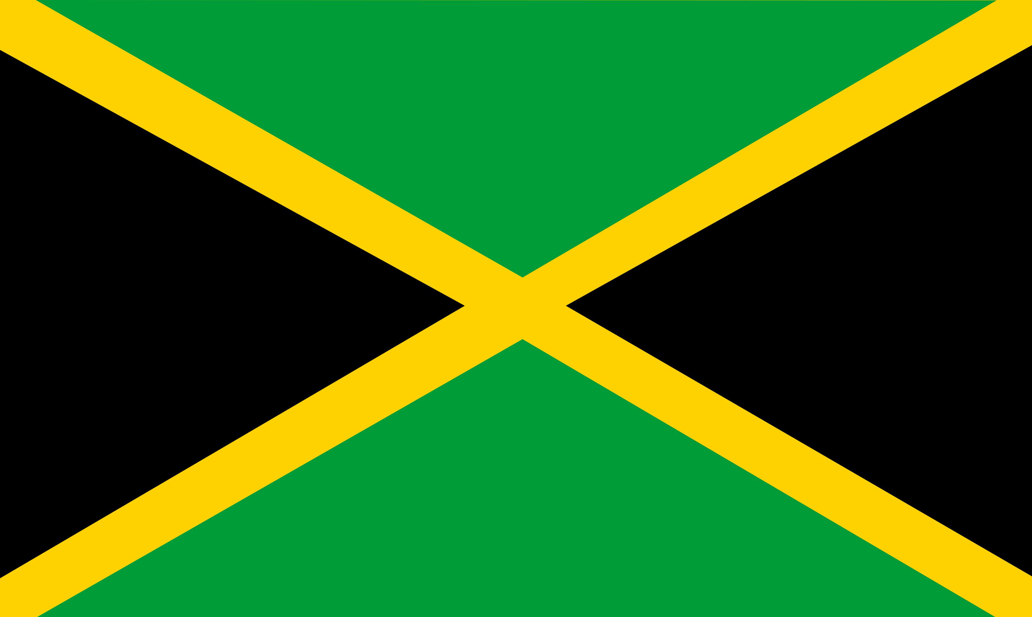 Bandeira da Jamaica.