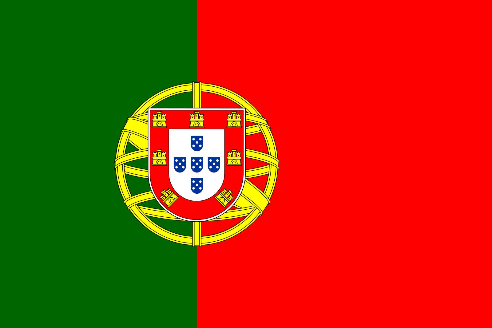 bandeira de portugal 1 - Bandeira de Portugal