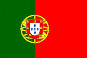 Bandeira de Portugal.